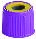 K2 EDTA separator blood tube - lavender top tube